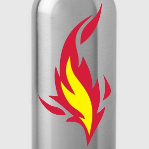 flamme feuer 91030 T-Shirts - Trinkflasche
