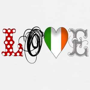Love Ireland Black - Männer Premium T-Shirt