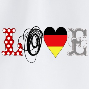 Love Germany Black - Mochila saco