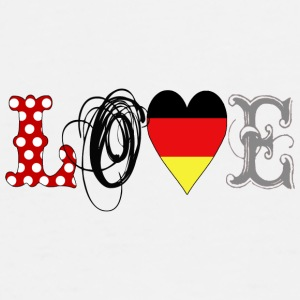Love Germany Black - Men's Premium T-Shirt