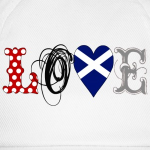 Love Scotland Black - Baseball Cap