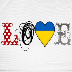 Love Ukraine Black - Gorra béisbol