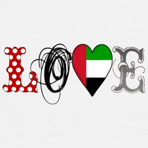 Love UAE  - Men's Premium T-Shirt