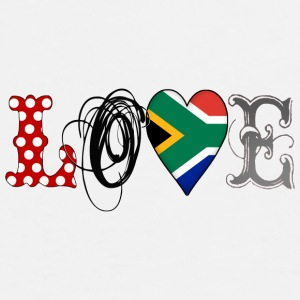 Love South Africa Black - Männer Premium T-Shirt