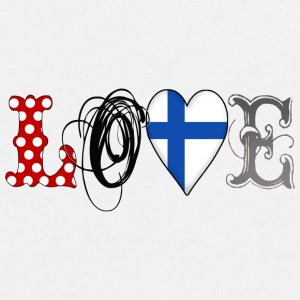 Love Finland Black - Men's Premium T-Shirt