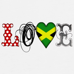 Love Jamaica Black - Men's Premium T-Shirt