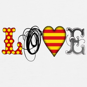 Love Catalonia Black - Männer Premium T-Shirt