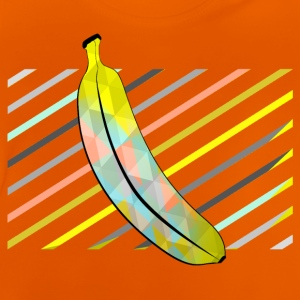 Orange Stylish Pixel Bananas Shirts - Baby T-Shirt