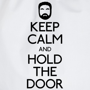 Keep Calm hold the door T-Shirts - Turnbeutel