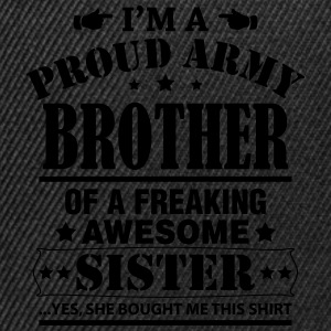 Proud Army Brother... T-Shirts - Snapback Cap
