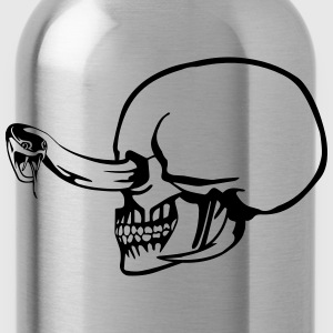 Skull snake eye T-Shirts - Water Bottle