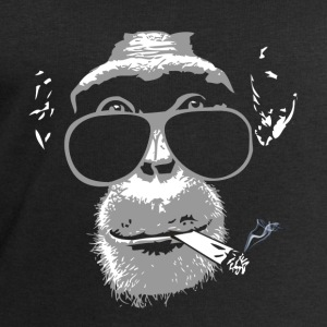 Chimpanzee with joint   Tops - Männer Sweatshirt von Stanley & Stella