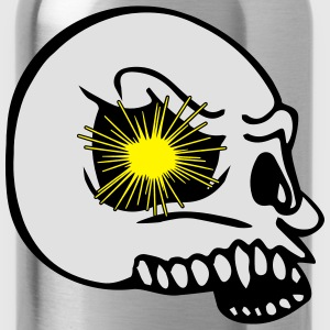 Skull explosion eye T-Shirts - Water Bottle