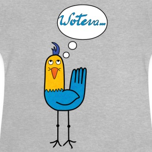 Woteva bird t-shirt for teens - Baby T-Shirt