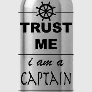 Trust me I´m a Captain 1c Poloshirts - Trinkflasche