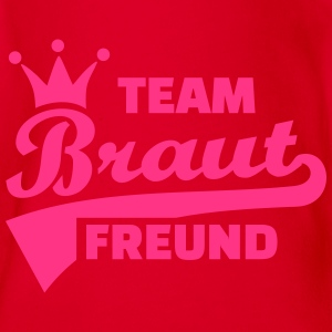 Team Braut T-Shirts - Baby Bio-Kurzarm-Body