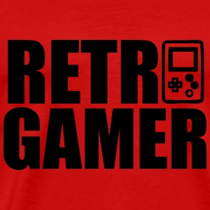 Retro Gamer : Retro gaming Sports wear - Men's Premium T-Shirt
