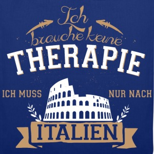 NoTherapy_Italien  T-Shirts - Stoffbeutel