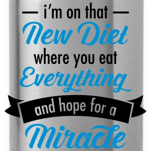 My New Diet Camisetas - Cantimplora