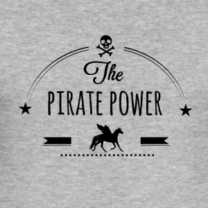 Pirate Power - Tee shirt près du corps Homme