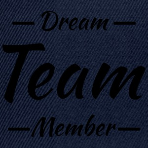 Dream team member Sports wear - Snapback Cap