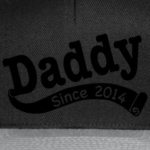 Daddy Since 2014 T-Shirts - Snapback Cap