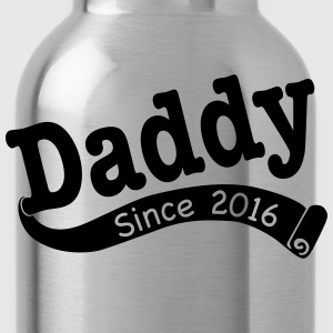 Daddy Since 2016 T-Shirts - Water Bottle