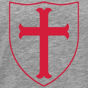 crusaders cross #2 Manches longues - T-shirt Premium Homme