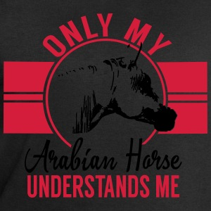 Only my Arabian horse... T-Shirts - Men's Sweatshirt by Stanley & Stella