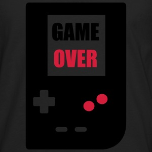 game over : Retro Gaming console T-Shirts - Men's Premium Longsleeve Shirt