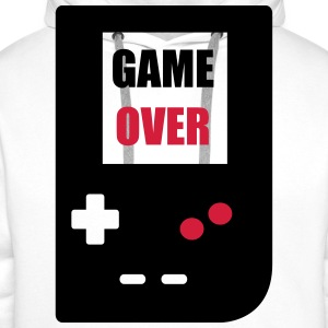 game over : Retro Gaming console Sportkleding - Mannen Premium hoodie