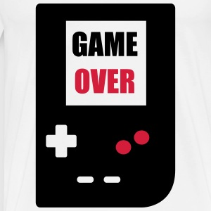 game over : Retro Gaming console Sportkleding - Mannen Premium T-shirt