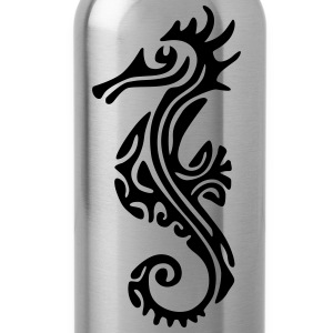 TAHITIAN SEA HORSE (tribal collection) - Water Bottle