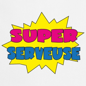 Super serveuse Camisetas - Delantal de cocina