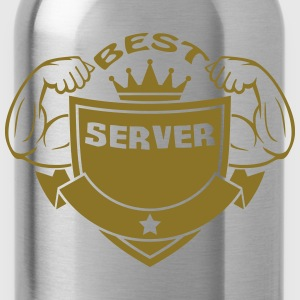 Best server T-Shirts - Water Bottle