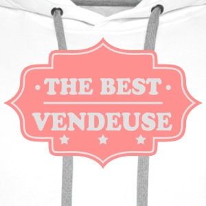 The best vendeuse T-Shirts - Men's Premium Hoodie