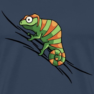 colored chameleon Tops - Men's Premium T-Shirt