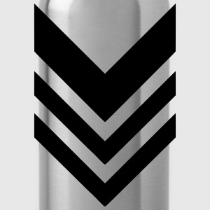rank military army - Water Bottle