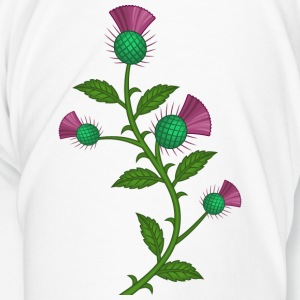 scotland thistle flower - Men's Premium T-Shirt