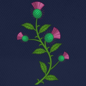 scotland thistle flower - Baseball Cap