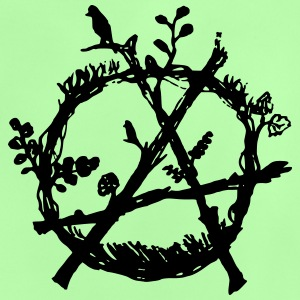green anarchy eco - Baby T-Shirt