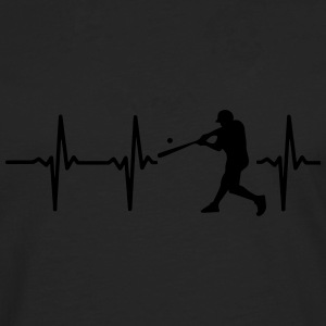 MY HEART BEATS FOR BASEBALL! Sports wear - Men's Premium Longsleeve Shirt