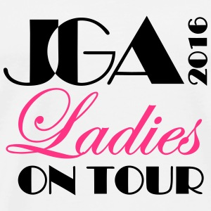 JGA 2016 Ladies on tour Tops - Männer Premium T-Shirt