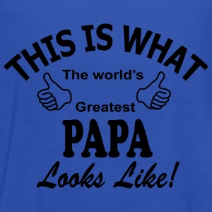 papa_worlds_greatest Kookschorten - Vrouwen tank top van Bella
