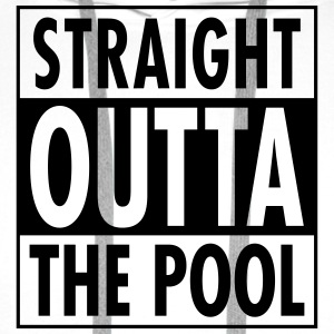 Straight Outta The Pool T-Shirts - Men's Premium Hoodie
