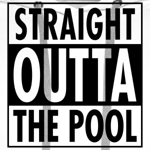 Straight Outta The Pool T-shirts - Herre Premium hættetrøje