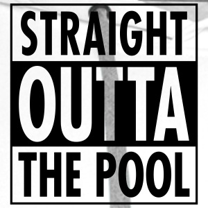 Straight Outta The Pool T-shirts - Premiumluvtröja herr