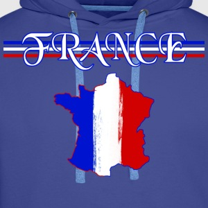 france Tee shirts - Sweat-shirt à capuche Premium pour hommes