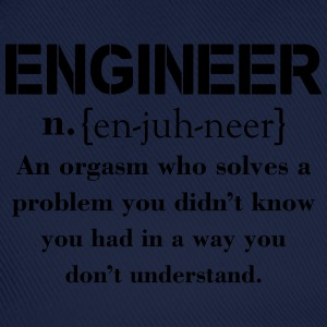 Engineer Definition Funny T-shirt T-Shirts - Baseball Cap