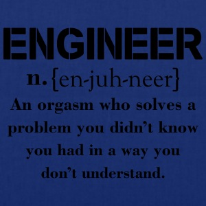 Engineer Definition Funny T-shirt T-Shirts - Tote Bag